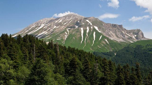 Гора Оштен в Адыгее