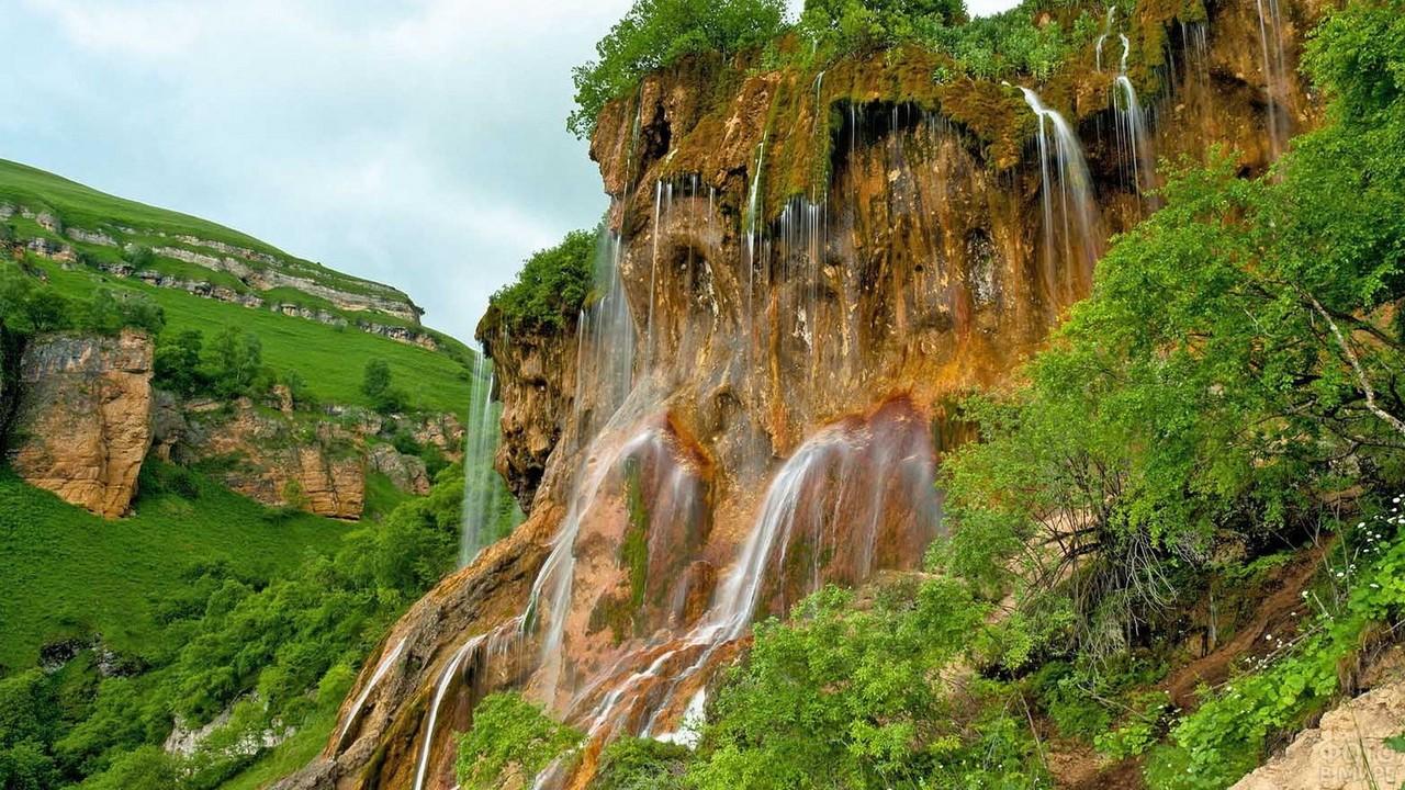 Водопад Гедмишх в Кабардино-Балкарии