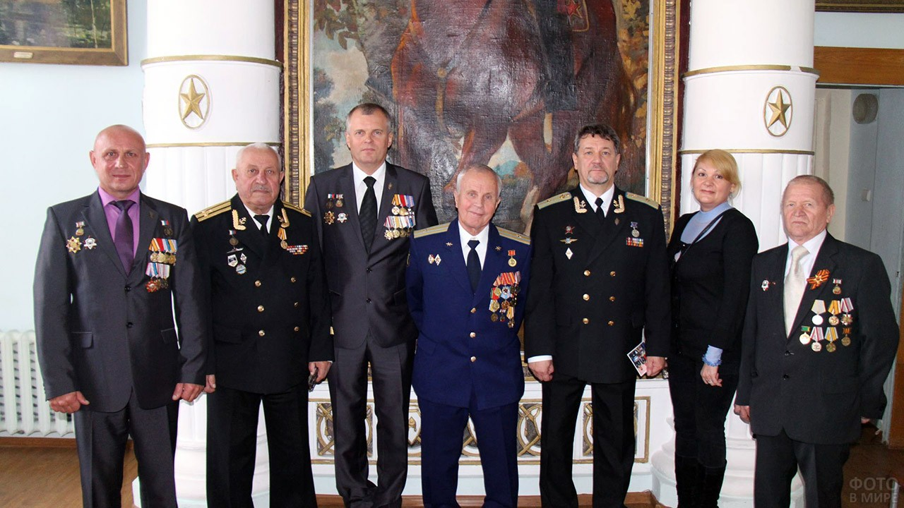 Ветераны милиции в свой профессиональный праздник