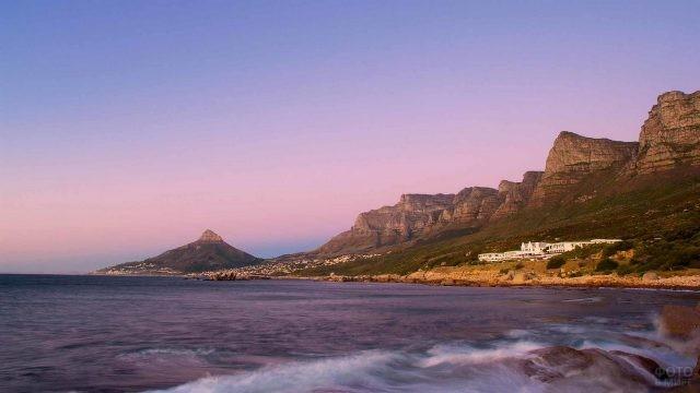 Горы Двеннадцати Апостолов в Кейптауне