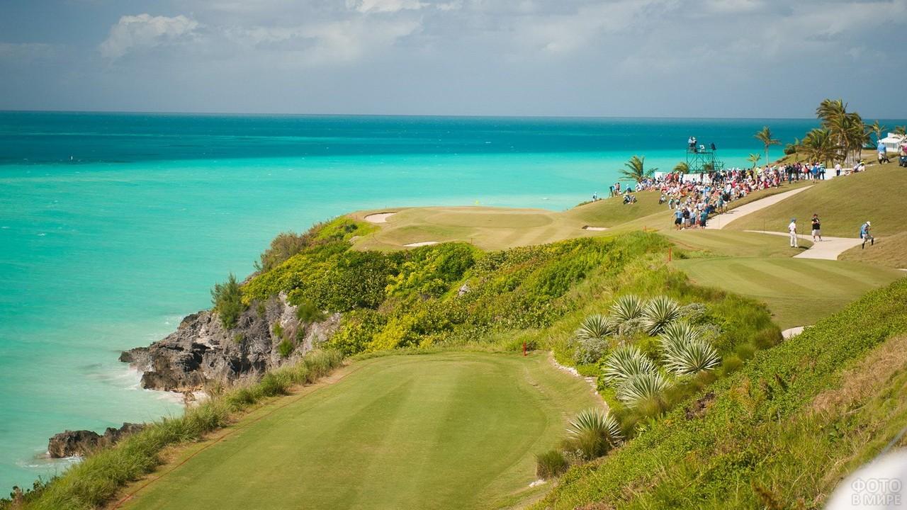 Красивое побережье Бермудского острова