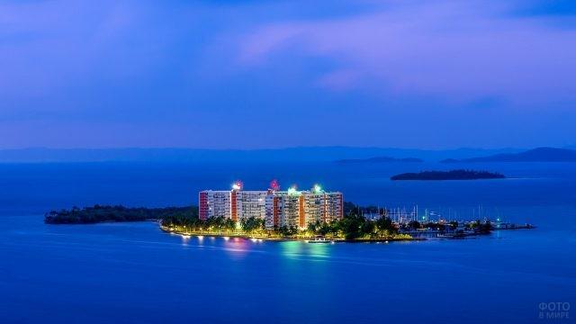 Островок в Пуэрто-Рико