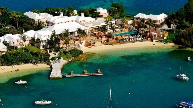 Туристическая зона на острове Сомерсет