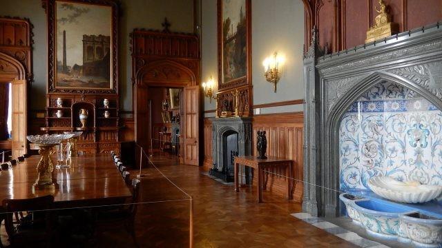 Парадная гостиная во дворце