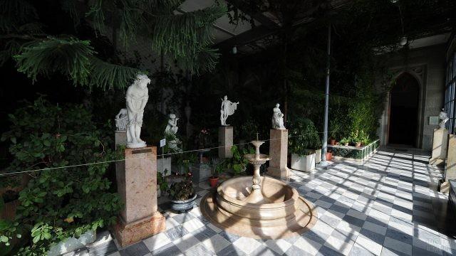 Зимний сад Воронцовского замка