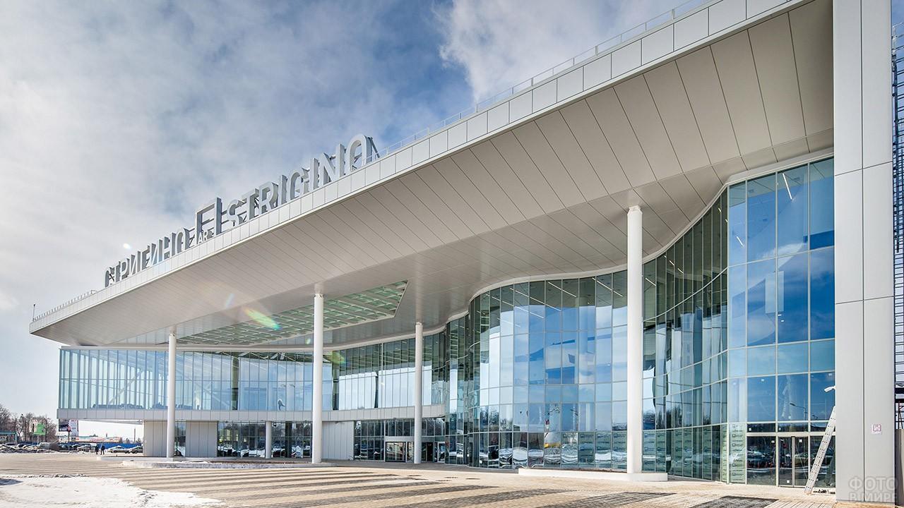 Нижегородский аэропорт Стригино