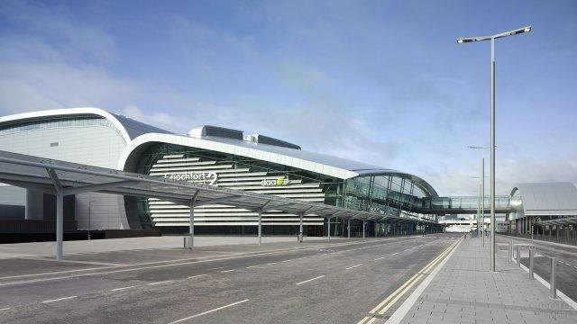 Новые терминалы аэропорта в Дублине, Ирландия