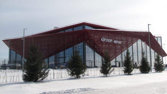 Новый мордовский аэровокзал