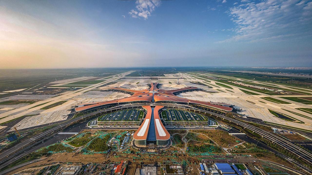 Новый пекинский аэропорт Дасин