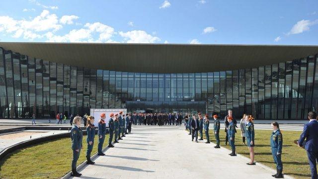 Открытие аэропорта Гагарин в Саратове