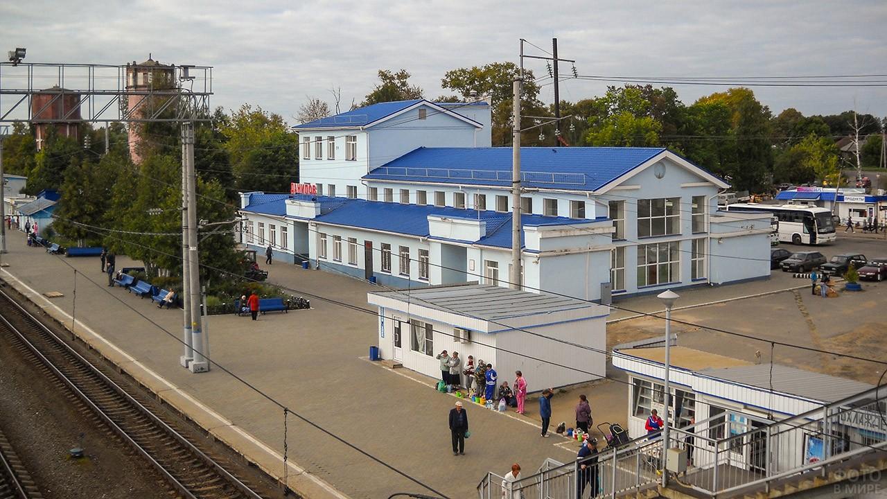 Станция в уездном городке