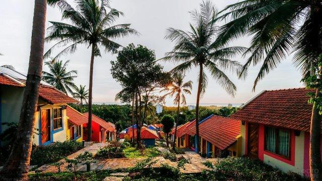 Бунгало в Дуонг Донге