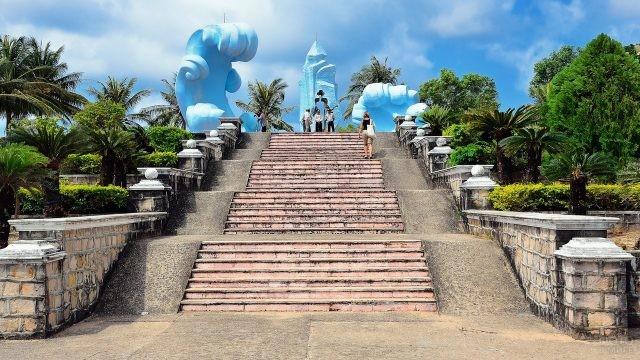Лестница на острове Фукуок