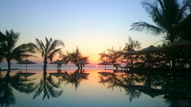 Отель Анкарин на острове