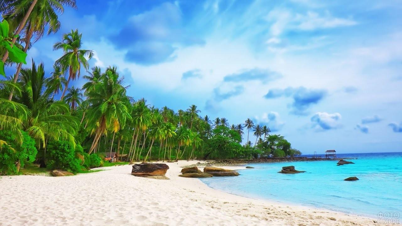 Пляж Онг Ланг на острове