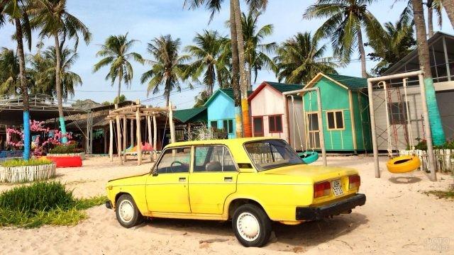 Такси на вьетнамском острове