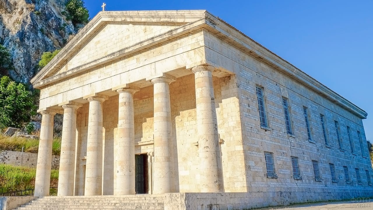 Греческий храм Артемиды