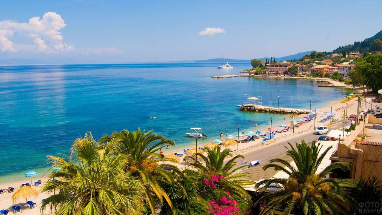 Побережье острова Корфу