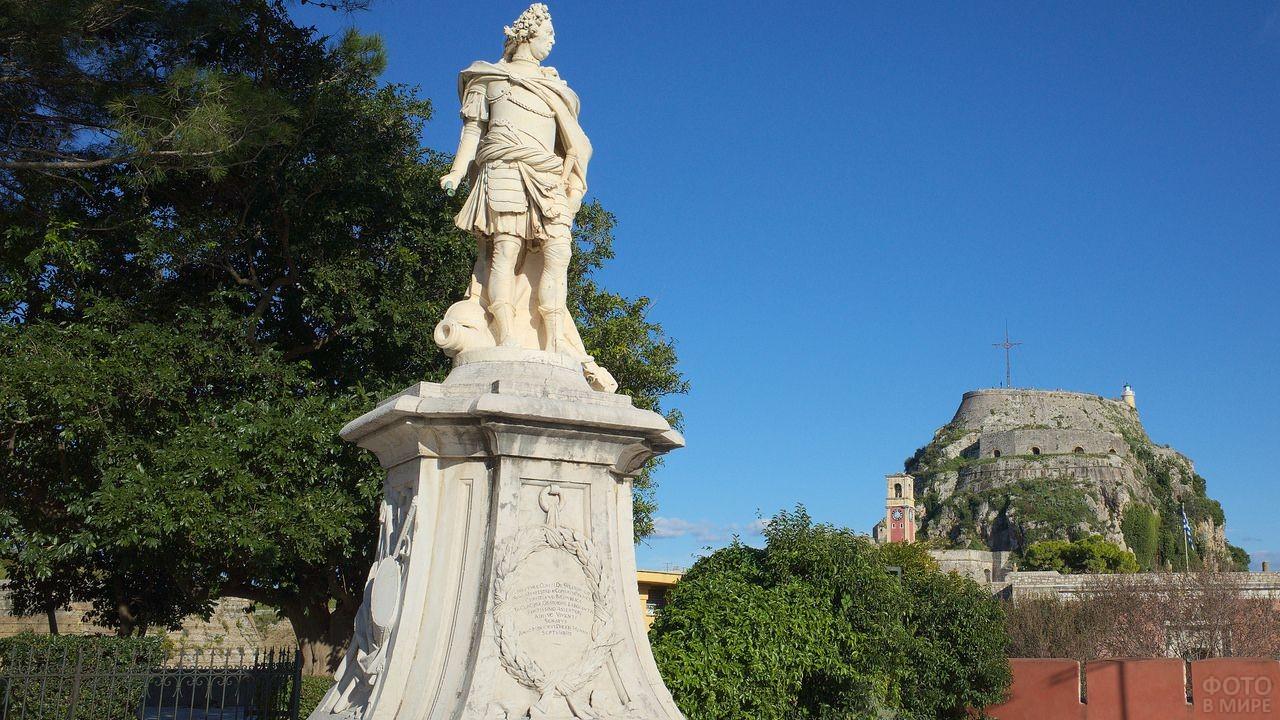 Статуя Иоанниса Капидистриаса