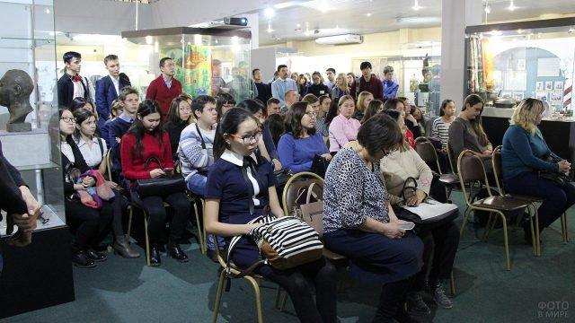 Конференция в историческом музее Республики Бурятия в годовщину Октябрьской революции