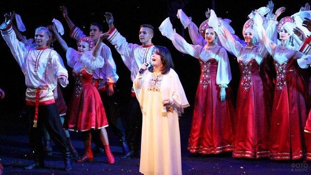 Праздничный концерт в День народного единства в Вологде