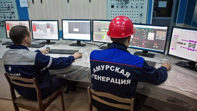 День энергетика на Благовещенской ТЭЦ в Амурской области