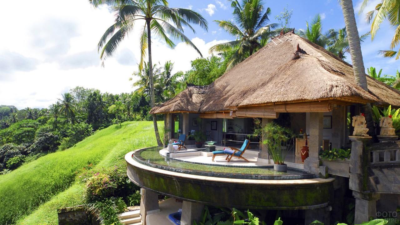 Бунгало на острове Бали