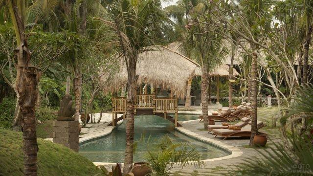 Курортный отель в Убуде