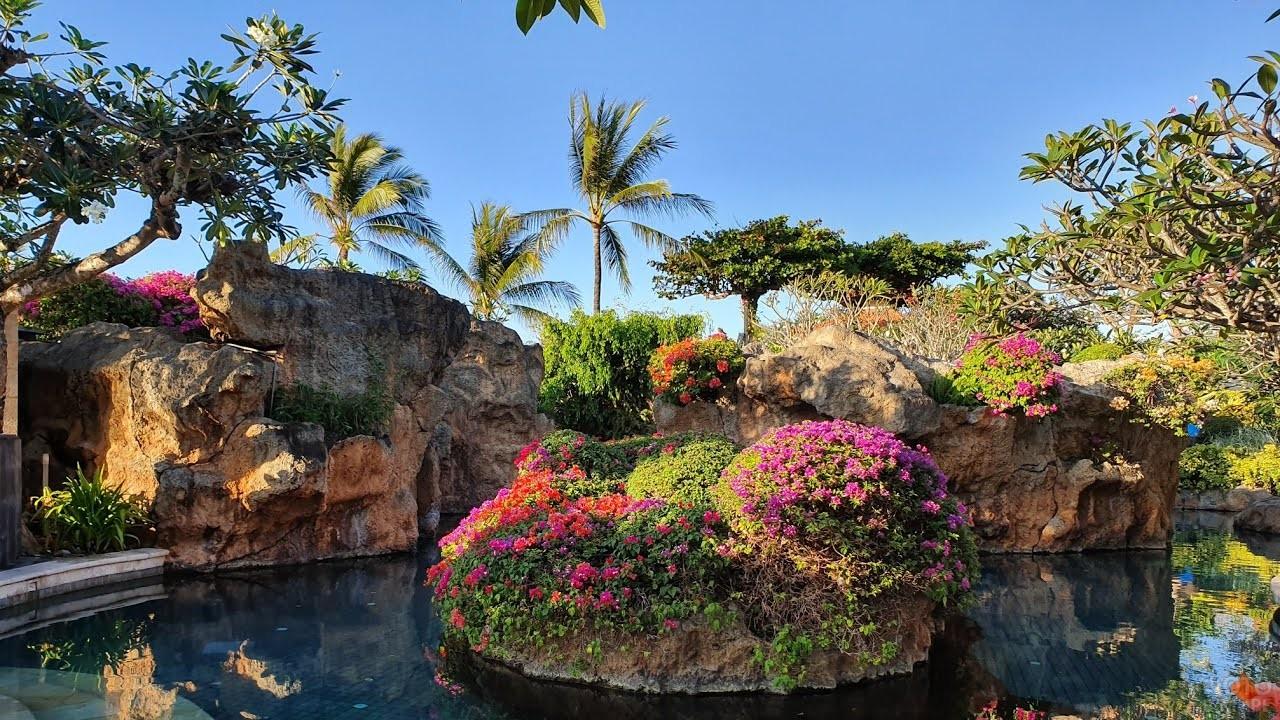 Ландшафтный дизайн сада на Бали