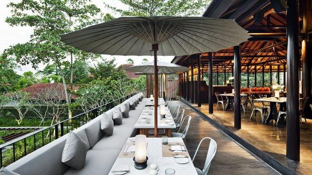 Ресторан на острове Бали