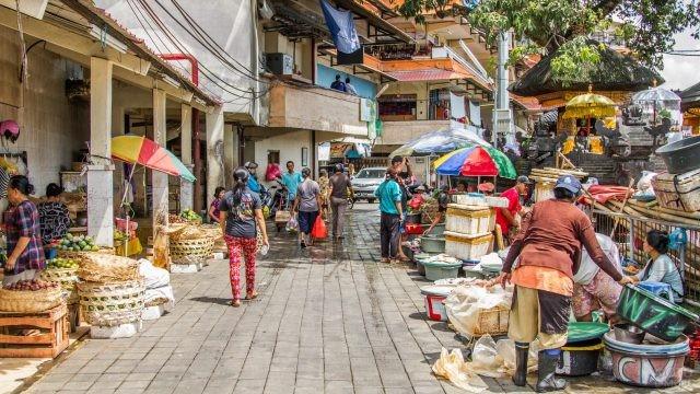 Торговля в городе Денпасар