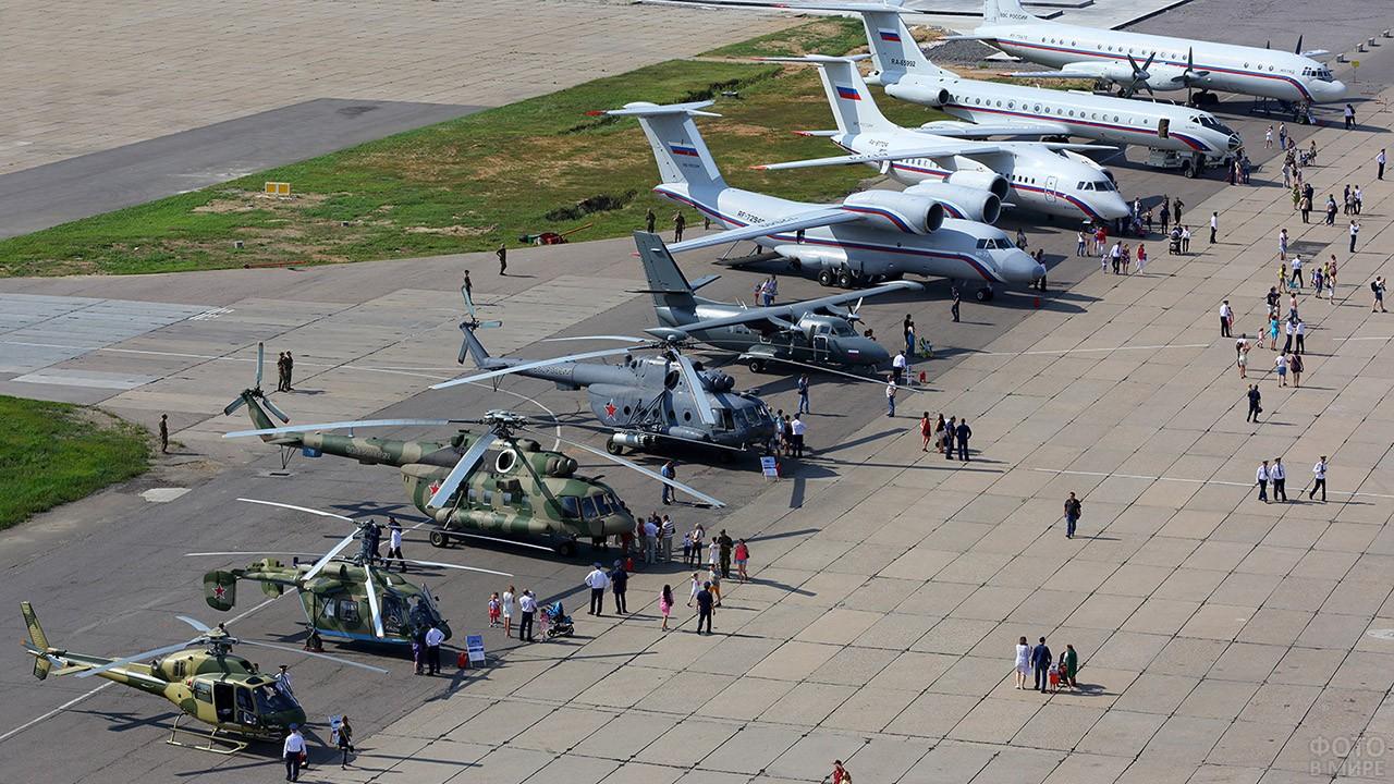 Авиасалон МАКС в Чкаловском