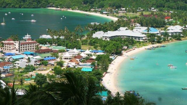 Отели на острове в Таиланде