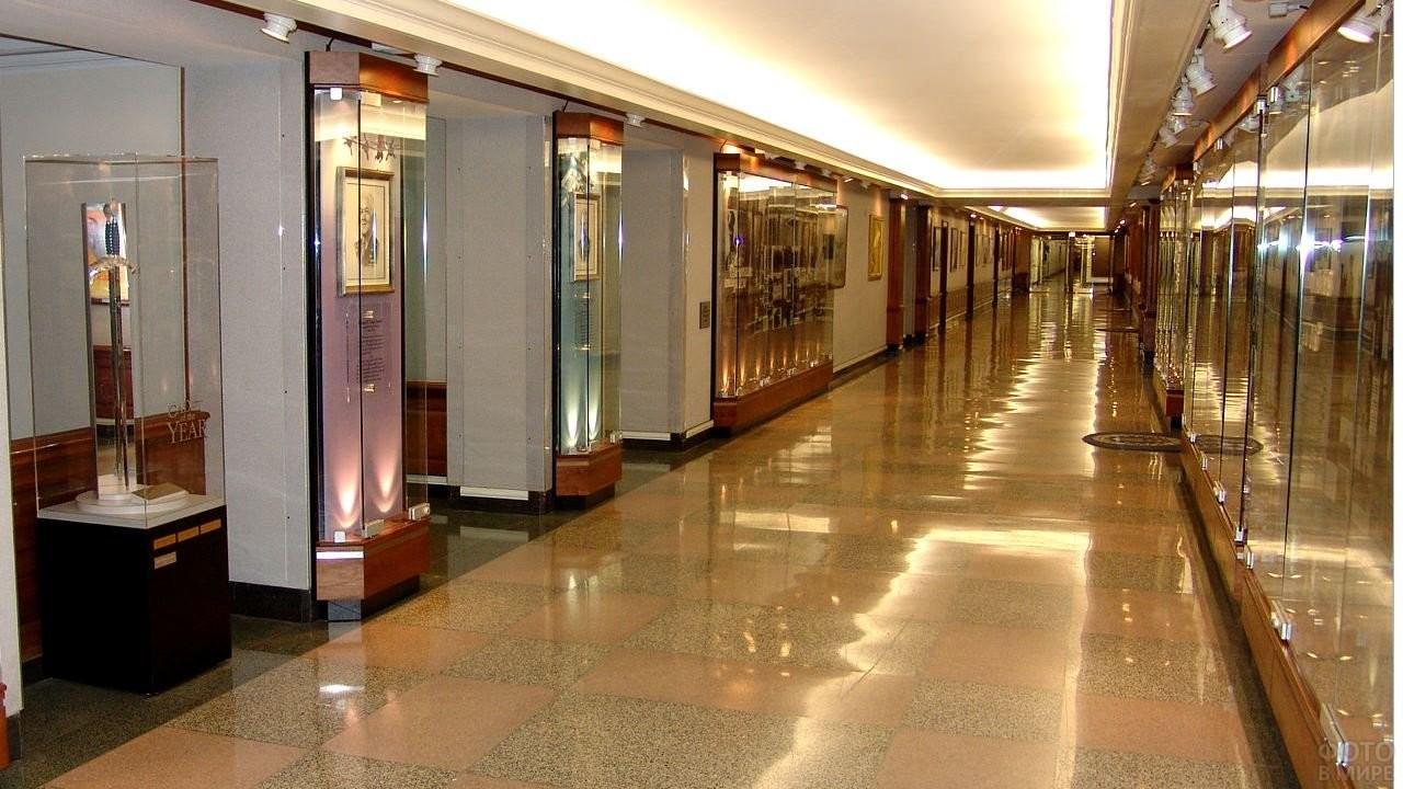 Внутри здания Министерства обороны Америки