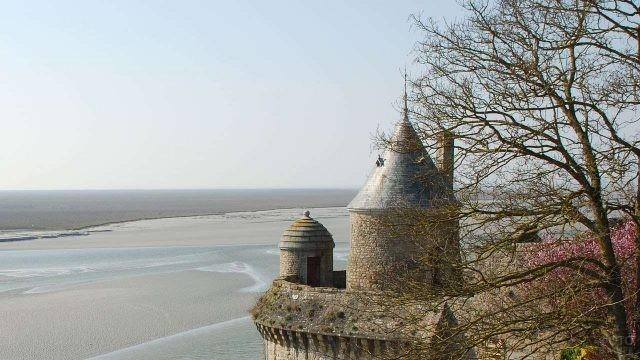 Башня замка Мон-Сен-Мишель