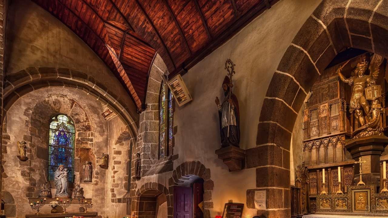 Церковь аббатства Мон-Сен-Мишель