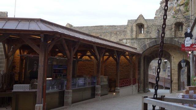 Ресторан в замке-крепости