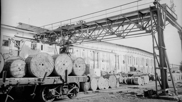 Архивное фото Кабельного завода в Ташкенте
