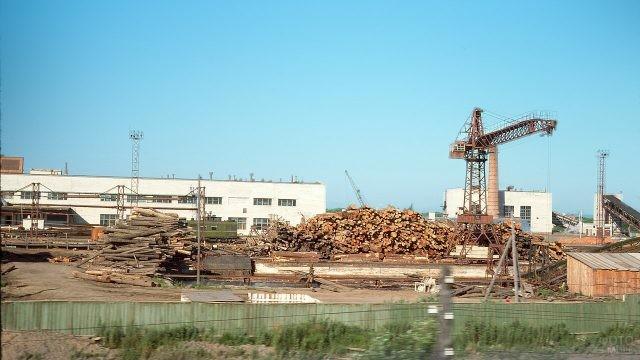 Деревообрабатывающий завод в Приморье, 1975
