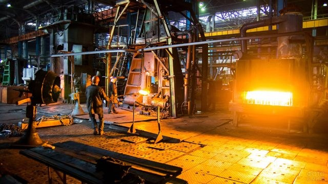 Кузнечный завод тяжелых штамповок в Белорусии