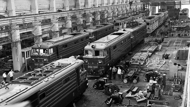 Новочеркасский электровозостроительный завод, 1962