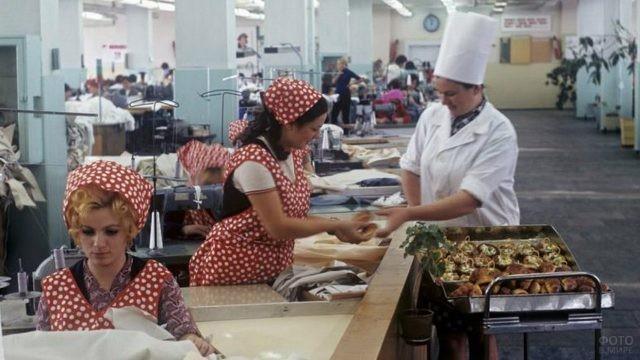 Швейная фабрика в советской Молдавии, 1975