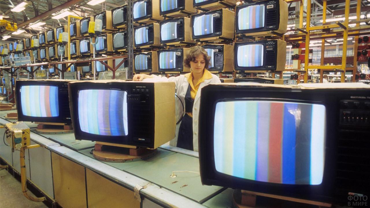 Телевизоры завода Рекорд, 1980