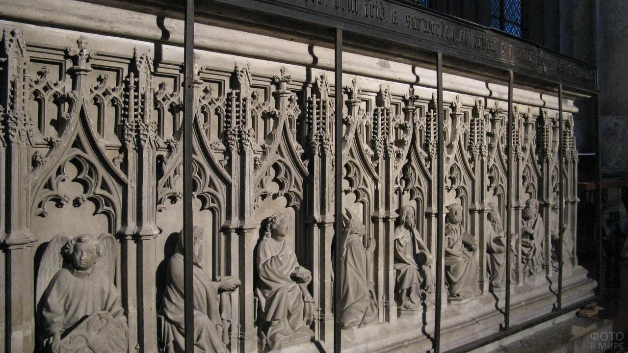 Мощехранилище в Кёльнском соборе