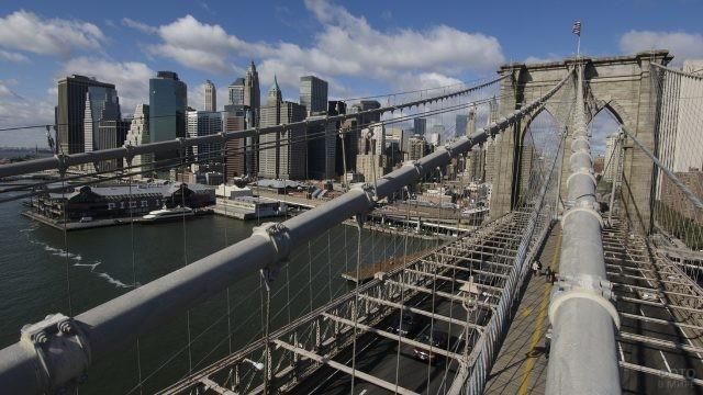Элементы висячего моста