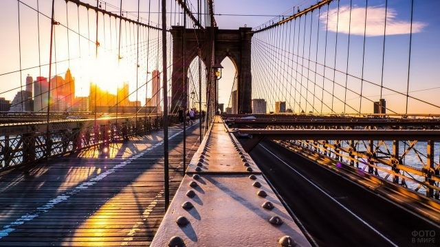 Металлические элементы моста