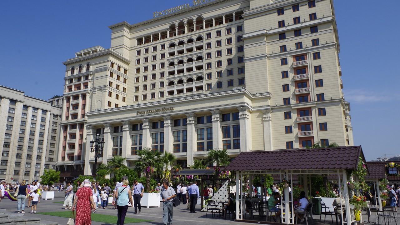 Гостиница Москва на Охотном ряду