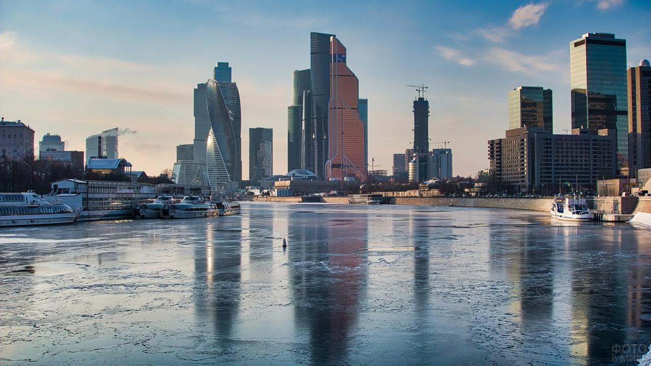 Панорама современной Москвы