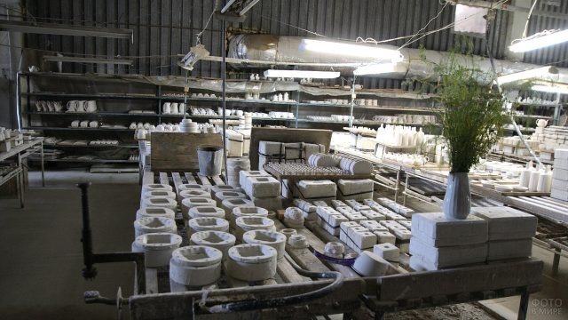 Ассортимент фарфорового завода в Сысерти