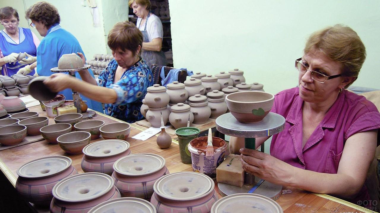 Производство Борисовской керамики